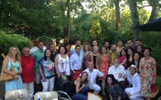 More than 40 journalists gathered at the home of Ray Suarez from PBS NewsHour on Saturday, June 29. The NAHJ Washington, D.C. Chapter raised $3,210 at Noche de Periodistas.