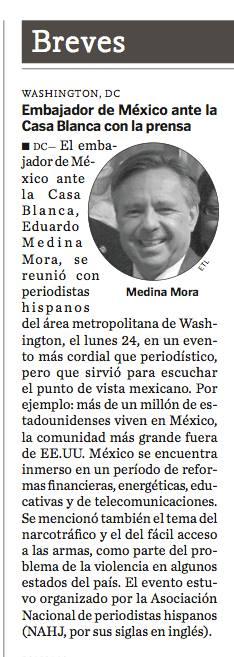 Story in El Tiempo Latino