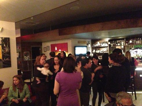 Full house at our kickoff mixer