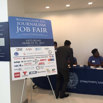 Twenty-two media outlets recruited at this year's job fair